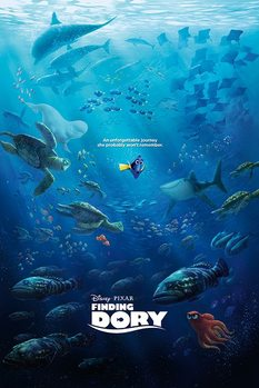 Póster Buscando a Dory - Unforgettable Journey