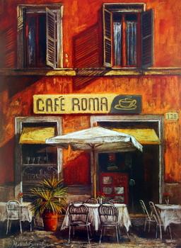 Café Roma Kunstdruk