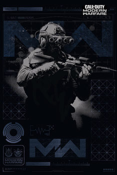 Póster Call of Duty: Modern Warfare - Elite