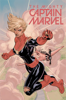Póster  Captain Marvel - Flight