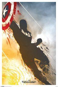 Póster Captán América: El Soldado De Invierno - One Sheet