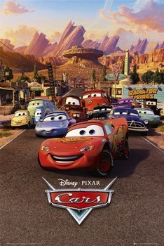 CARS - one sheet poster, Immagini, Foto