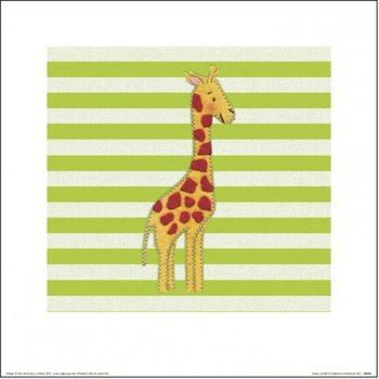 Catherine Colebrook - Nosey Giraffe Kunstdruk