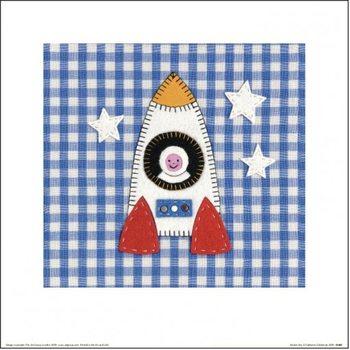 Catherine Colebrook - Rocket Boy Kunstdruk