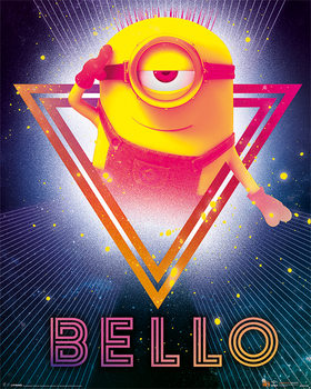 Poster  Cattivissimo me 3 - 80's Bello