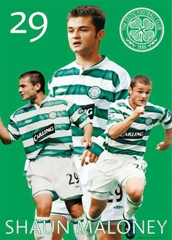 Póster  Celtic - Maloney 03