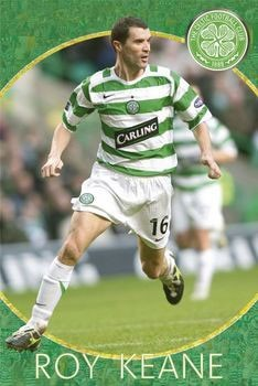 Póster  Celtic - roy keane