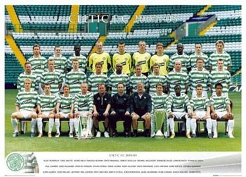 Póster  Celtic - Team 04/05
