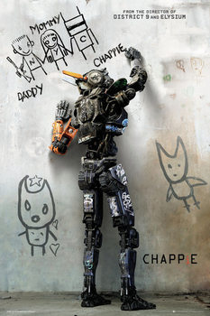 Póster  Chappie - Teaser
