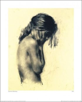 Charlie Mackesy - Girl Kunstdruk