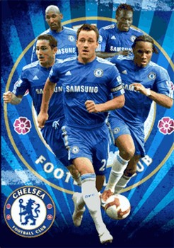 CHELSEA - players 3D Poster 3D