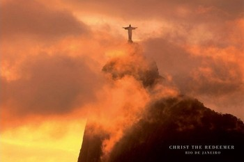 Poster Christ the redeemer - jesus