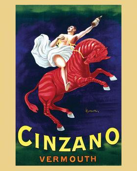 Póster Cinzano vermouth