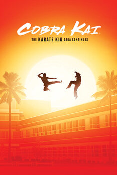 Poster Cobra Kai - The Saga Continues