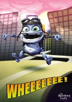 Poster Crazy Frog - City