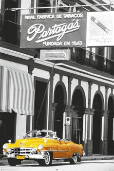 Poster Cuba - cigar