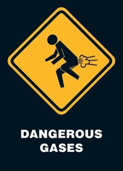 Poster Dangerous gases