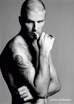 Póster David Beckham - ring