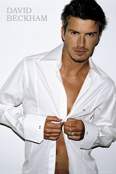 Póster David Beckham - shirt