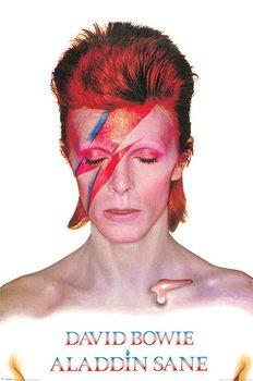 Póster David Bowie - Aladdin Sane