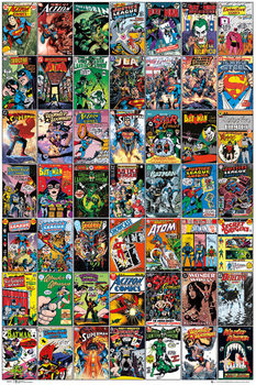Poster DC COMICS - comic covers
