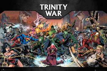 Poster DC Comics - Trinity War