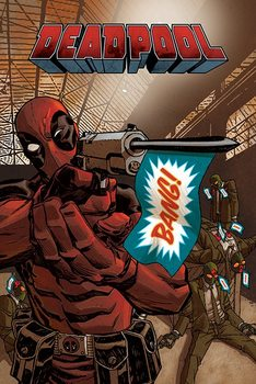 Póster  Deadpool - Bang