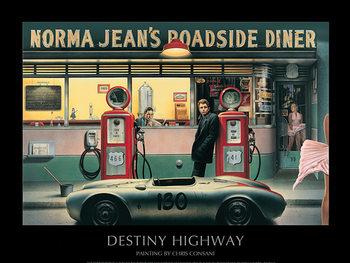 Destiny Highway - Chris Consani Kunstdruk