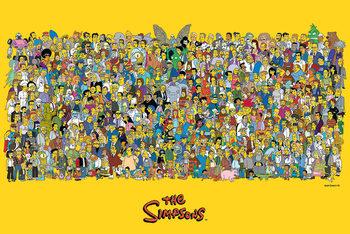 Poster Die Simpsons - Characters