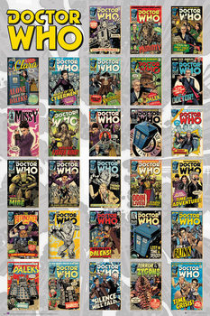 Póster  Doctor Who - Comics Compilation