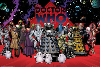 Póster  Doctor Who - Compilation