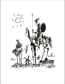 Don Quichotte Kunstdruk