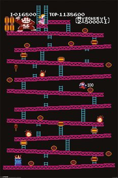 Donkey Kong - NES Poster
