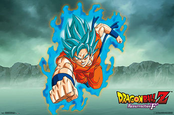 Poster Dragonball Z - Resurrection F Goku