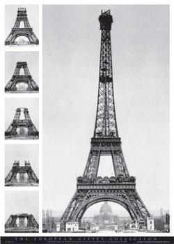 Poster Eiffel tower - european