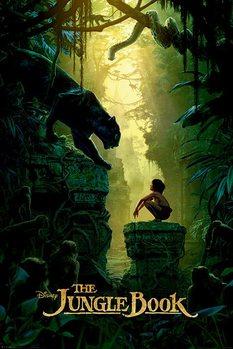 Póster El Libro de la Selva - Bagheera & Mowgli Teaser