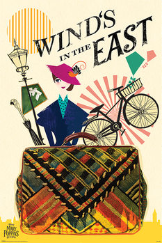 Póster El regreso de Mary Poppins - Wind in the East