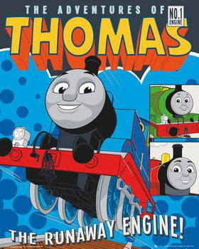 Póster El tren Thomas y sus Amigos - Runaway Train