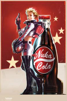 Póster  Fallout 4 – Nuka Cola