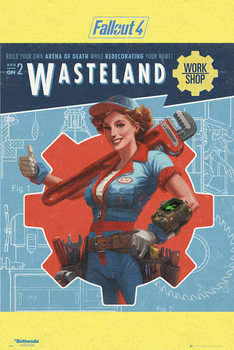 Póster Fallout 4 - Wasteland