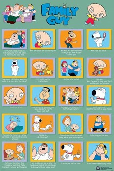 Poster  FAMILY GUY - quotes