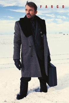 Poster Fargo - Lorne Malvo Snow Blood