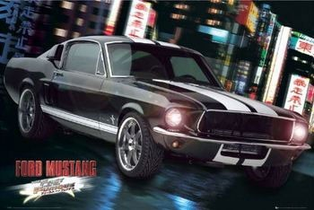 Póster Fast and Furious - Ford Mustang