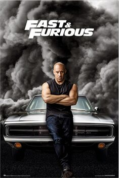 Poster Fast & Furious - Dominic Toretto
