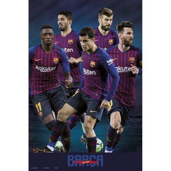 Póster  FC Barcelona 2018/2019 - Grupo