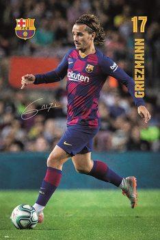 Póster FC Barcelona - Griezmann 2019/2020