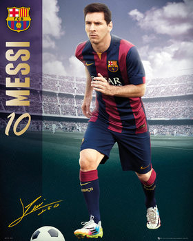 Poster FC Barcelona - Messi 14/15