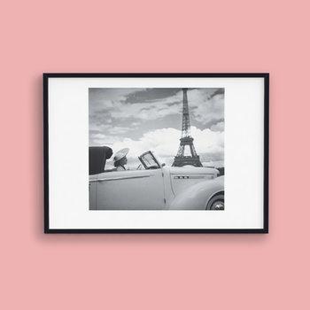 Femme au Volant Paris  Kunstdruk