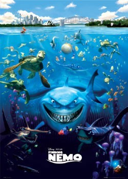 FINDING NEMO – one sheet Poster