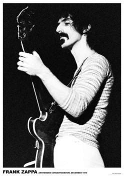 Póster Frank Zappa - Armsterdam 1970